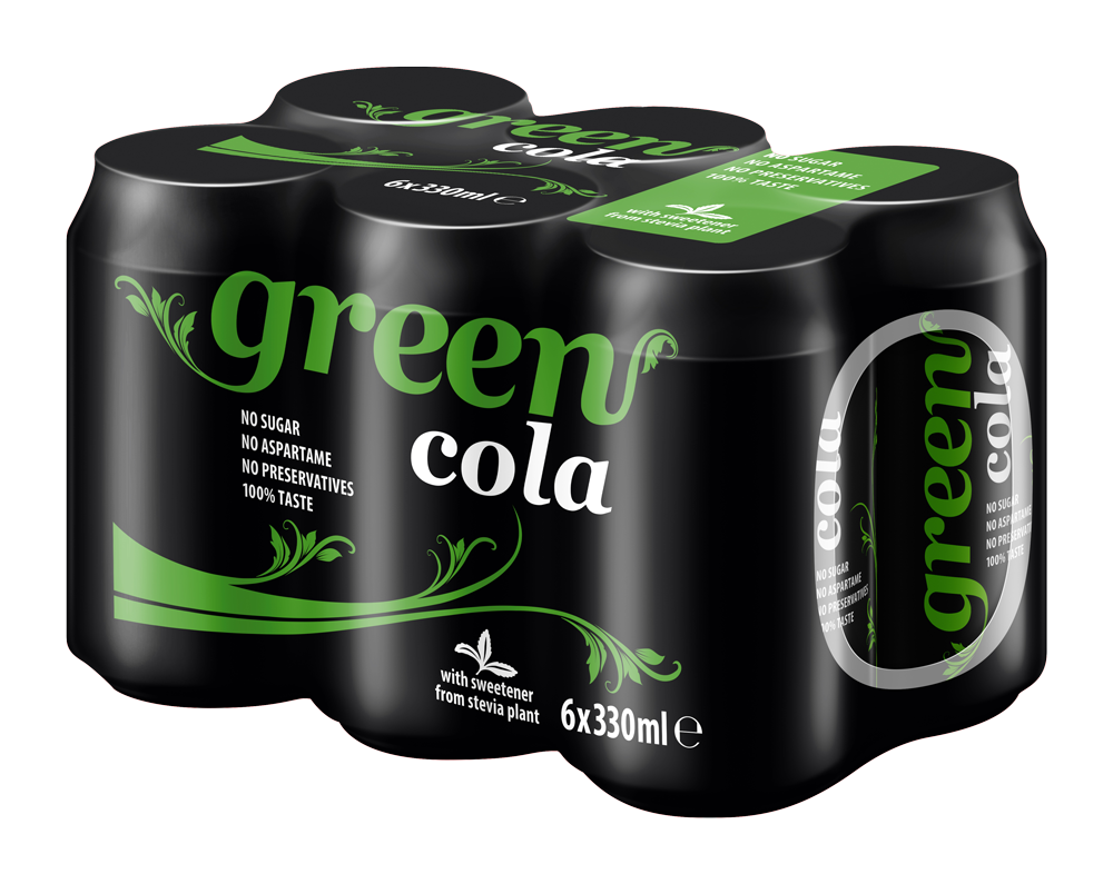 Green Cola - Multipack - 6x330 cans