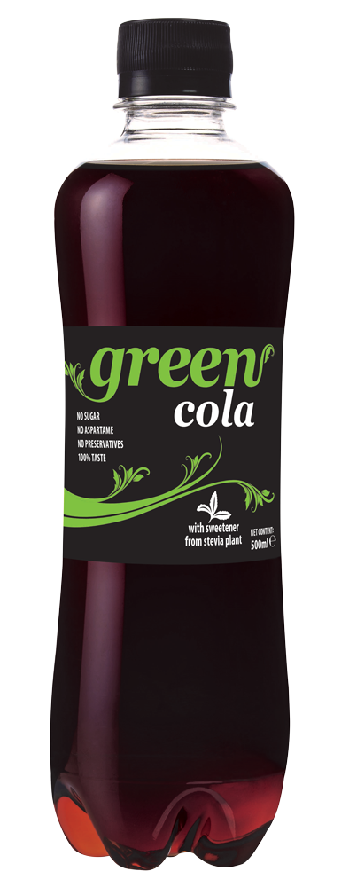 Green Cola - PET bottle - 500ml
