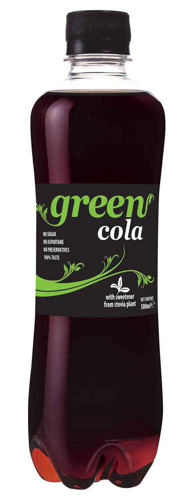 Green Cola - PET bottle - 500ml